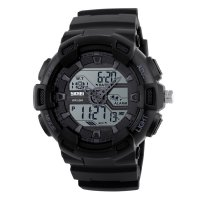 1189 Man's Watches Waterproof Black