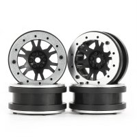 4pcs AUSTAR AX-619 1.9inch Wheel Rim for Axial SCX10 RC4WD D90 1/10 RC Car