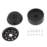 4pcs AUSTAR AX-618 1.9inch Metal Wheel Hub Rim Set for 1/10 RC Crawler Car