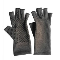 Therapy Compression Gloves Arthritis Joint Pain Relief Half-finger Gloves