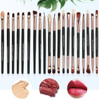 30PCS/SET Nylon Hair Wooden Handle Beauty Makeup Brushes Cosmetic Brush Tools