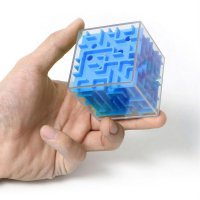 3D Maze Magic Cube Speed Game Puzzle Labyrinth Rolling Ball Educational Toy