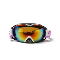 Unisex Double Layers Snow Sports Spherical Anti-Fog Skiing Goggles