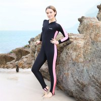 Adult Diving Suits Swimwear Long Sleeves Man Woman Snorkeling Swimming Wetsuit