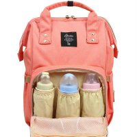 2PCS/SET Large Capacity Multifunctional Mommy Backpack Mommy Diaper Bag