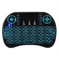 2.4Ghz 92 Keys Wireless Gaming Keyboard With Colorful Touchpad Backlight