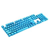 104 Keys Double Shot Keycaps Backlit Keycaps for Mechanical Keyboards