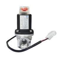 LPG Gas Emergency Shut Off Solenoid Valve For Home Security Alarm System