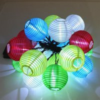 10 LED Solar Light Waterproof Lantern Shape String Light Christmas Decoration