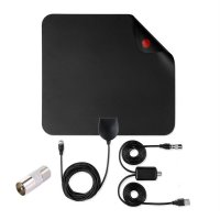 1080P Antena High Gain 25DB Digital HDTV Antenna 50 Miles Range Indoor Antenna