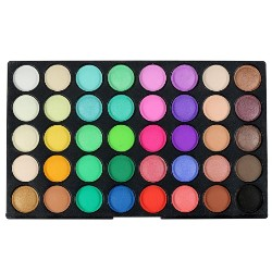 120 Color Eye Shadow Earth Tone Makeup Disc Glitter Matte Eyeshadow Palette