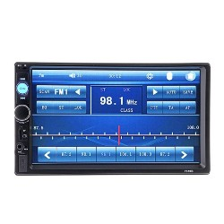 "7"" Dual Din Car MP5 Player Support Card-Reading & Bluetooth Hands-free Call"