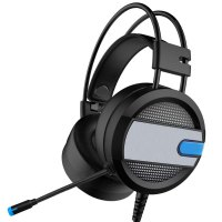3.5mm Wired Gaming Headphone PC Headset Gaming Equipment With Microphone