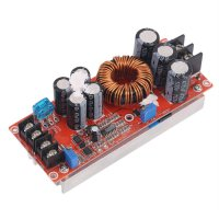 1200W DC-DC Boost Converter Power Supply 8-60V 12V Step Up to 12-83V 24V 48