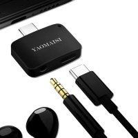 2 In 1 Type-C Audio Converter Type-C to 3.5MM Earphone Jack + Charging Adapter