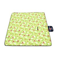 200x200CM Outdoor Camping Picnic Mat Flocking Fabric Blanket