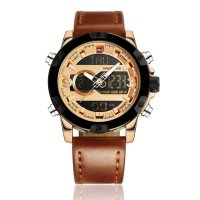 9096 Men 3ATM Waterproof Wrist Watch Electronic Digital Needle Watch