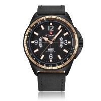 9103 Men Waterproof Calendar Date Time Noctilucent Wrist Watches