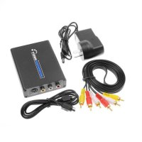 1080P Composite S-Video R/L Audio to HDMI Converter AV to HDMI With Adapter