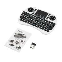 2.4GHz 92 Keys Wireless Keyboard with Touchpad Mouse for Android TV Box PC