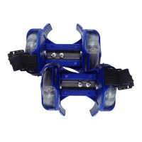 3-Color Light Small Whirlwind Pulley Adjustable Flash Wheel Roller Skating Shoes