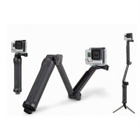 3-Ways Monopod Mount Action Camera Grip Tripod Suitable For Gopro Hero 5/4
