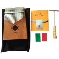 17 Keys Kalimba Thumb Piano Acacia Wood African Instruments with 17 Tone