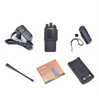 Waterproof BF-9700 Walkie Talkie Earpiece UHF Radio Transceiver For Outdoor