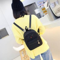 3pcs/set Large Capacity Backpack Shoulder Bag Small Clutch Handbag Wallet