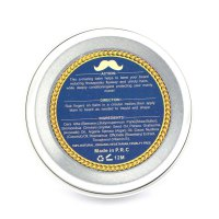 60g Natural Beard Balm Moustache Wax Facial Hair Growth Softening Cream
