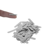 100pcs/set Conductive 2.5*0.5CM Solder Tab For 18650 Rechargeable Battery