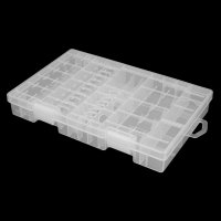 Portable Hard Plastic Battery Case Holder Storage Box For AAA/AA Battery