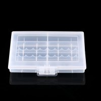 Batteries Storage Case Holder Battery Box For 10 x AA or 14 x AAA