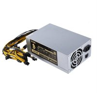 1800W High Efficiency Mining Machine Power Supply for 6 GPU Bitcoin Miner
