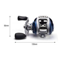 10+1BB Bait Casting Fishing Reel G-Ratio 6.3:1 Baitcasting Fishing Reel
