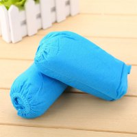 100PCS Disposable Non-wovens Shoe Covers Thickened Anti Slip Clean Overshoes