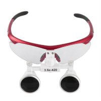 3.5x 420mm Working Distance Dental Surgical Binocular Loupes Medical Magnifier