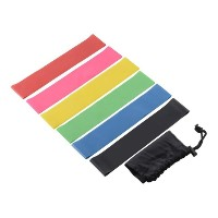 Resistance Band Set 6 Level Resistance Exercise Loop Bands Gym Training Yoga
