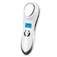 Ultrasonic Hot Cold Firming Face Electric Skin Firming Vibration Massager