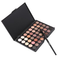 40 Colors Set Facial Cosmetic Makeup Eyeshadow Palette With Brushes