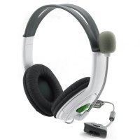 Gaming Headset With Adjustable Microphone For Xbox 360 Durable Game Headphone