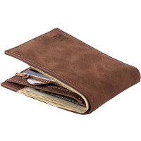 Baborry Fashion Mini Men's Luxury Business Wallets Card Holder Man Purse