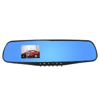 "2.8"" 1080P Dash Cam Video Recorder Rearview Mirror Car Camera Vehicle DVR"