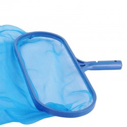 Swimming Pool Spa Pond Leaf Skimmer Mesh Sturdy Plastic Frame Head Surface Net