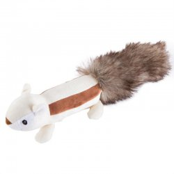 2017 Adorable Sounding Squirrel Skunk Long Tail Plush Stuffed Pets Toys