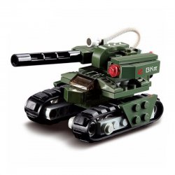 103pcs Building Block Red Alert 3 Hammer Tank Military Tank Toy For Children