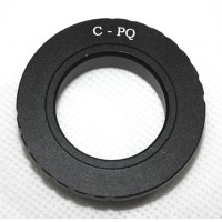 Camera C Mount Lens CCTV Lens to Pentax Q Q7 Q10 Q-S1 Camera Mount Adapter Ring C-PQ C-P/Q
