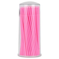 100 pcs Bottled Disposable Cotton Bud Eyelash Grafting Mascara Cleaning Stick