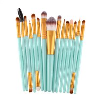 15Pcs/Kit Makeup Brushes Set Cosmetic Make Up Brush Beauty Tool Synthetic Hair