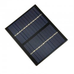 12V 1.5W Solar Panel Polycrystalline Silicon DIY Battery Power Charge Module